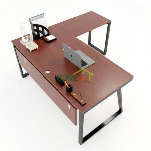 HBTH020 - Bàn chữ L 160x160 Trapeze II Concept lắp ráp