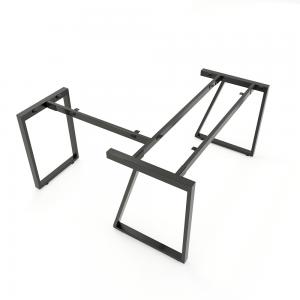HCTH017 - Chân bàn chữ L 140x140 hệ Trapeze II Concept lắp ráp