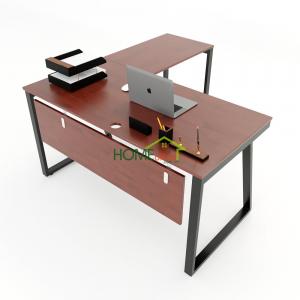 HBTH018 - Bàn chữ L 140x150 Trapeze II Concept lắp ráp