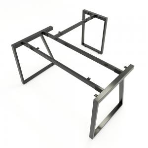 HCTH018 - Chân bàn chữ L 140x150 hệ Trapeze II Concept lắp ráp
