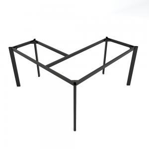 HCOV017 - Chân bàn chữ L hệ Oval Concept 140x140 lắp ráp