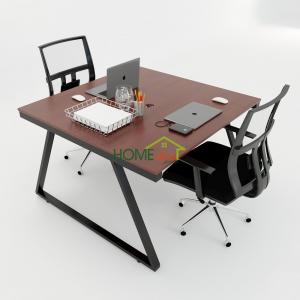 HBTH014 - Bàn cụm 2 120x120 Trapeze II Concept lắp ráp