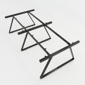HCTH015 - Chân bàn cụm 4 hệ Trapeze II Concept 240x120 lắp ráp
