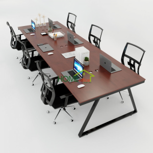 HBTH016 - Bàn cụm 6 360x120 Trapeze II Concept lắp ráp