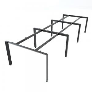 HCTA013 - Chân bàn cụm 6 hệ Trian Concept 360x120 lắp ráp