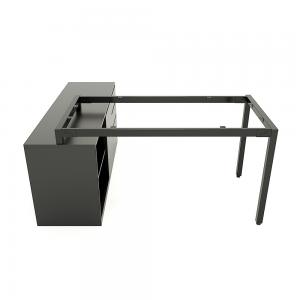 HCUC019 - Chân bàn gác tủ hệ UConcept 140x60 lắp ráp