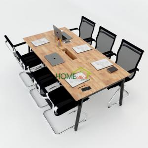 HBAT011 - Bàn họp 200x100 Aton Concept lắp ráp