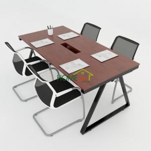 HBTH011 - Bàn họp 180x90 Trapeze II Concept lắp ráp