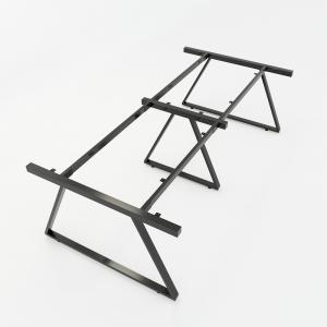 HCTH013 - Chân bàn họp hệ Trapeze II Concept 240x120 lắp ráp