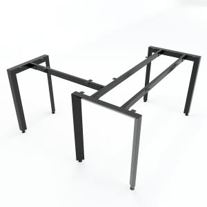 HCTA015 - Chân bàn chữ L hệ Trian Concept 140x150 lắp ráp