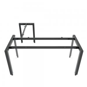 HCTA016 - Chân bàn chữ L hệ Trian Concept 160x140 lắp ráp