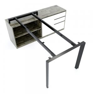 HCTA022 - Chân bàn gác tủ hệ Trian Concept 160x80 lắp ráp