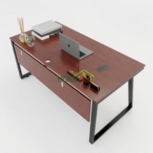 HBTH007 - Bàn làm việc 160x80 Trapeze II Concept lắp ráp