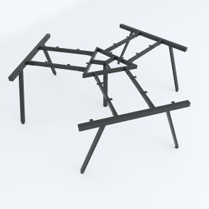 HCAC023 - Chân bàn cụm 3 236x205cm hệ AConcept lắp ráp