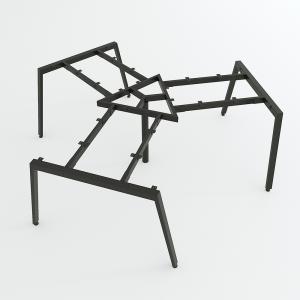 HCAT023 - Chân bàn cụm 3 236x205cm hệ Aton Concept lắp ráp