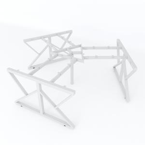 HCKC023 - Chân bàn cụm 3 236x205cm hệ KConcept lắp ráp