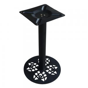 CBCF001 - Chân bàn cafe sắt sơn tĩnh điện cao 72cm