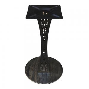 CBCF002 - Chân bàn cafe sắt sơn tĩnh điện cao 72cm