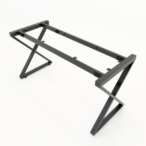 HCXC006 - Chân bàn sắt hệ XConcept 140x80 lắp ráp