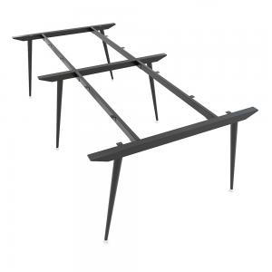HCCO012 - Chân bàn sắt hệ CONE Concept 240x120 lắp ráp
