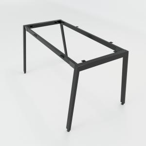 CBAT002 - Chân bàn giám đốc sắt 25x50 lắp ráp chữ A mẫu 2