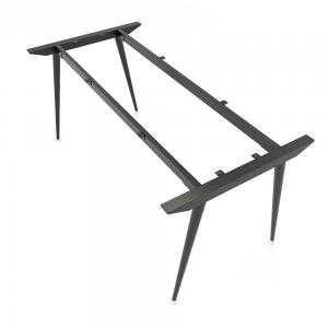 CBCN002 - Chân bàn giám đốc sắt Côn lắp ráp