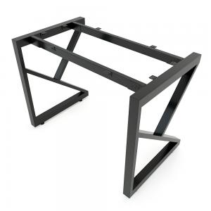 CBKC001 - Chân bàn đơn giản sắt 25x50 lắp ráp chữ K