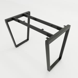 CBTC001 - Chân bàn đơn giản sắt 25x50 lắp ráp hình thang