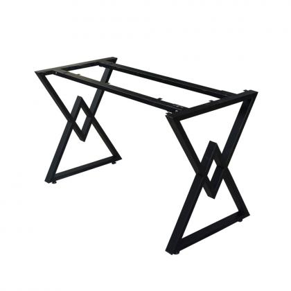 CBCC009 - Chân bàn kim cương lắp ráp 1200x600 sắt 25x50