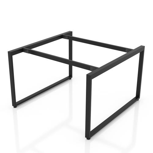 NVCN004 - Chân bàn nhân viên 1200x1200mm sắt 25x50 lắp ráp ngàm