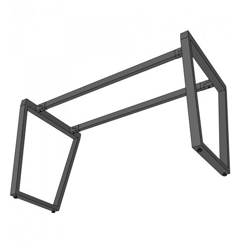 HCTC005 - Chân bàn hệ Trapez Concept 70x140 lắp ráp