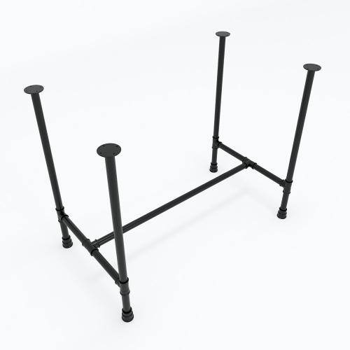 CON001 - Chân bàn ống nước 1200x600x720mm sắt ống phi 27