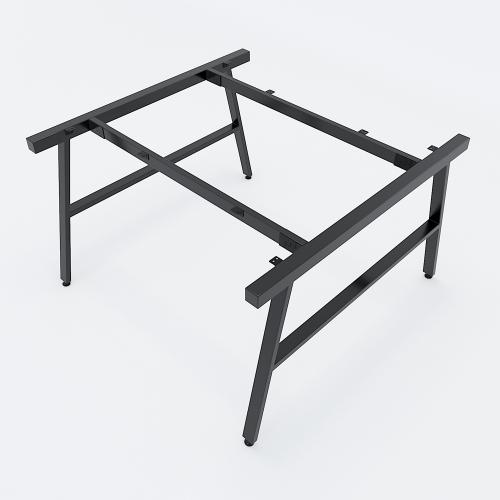 HCAC014 - Chân bàn cụm 2 120x120 hệ AConcept lắp ráp