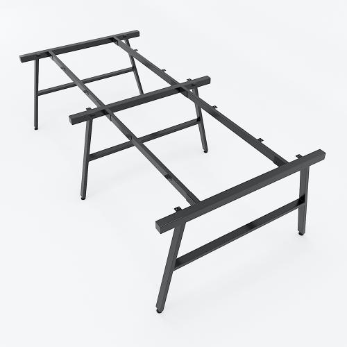 HCAC015 - Chân bàn cụm 4 120x240 hệ AConcept lắp ráp
