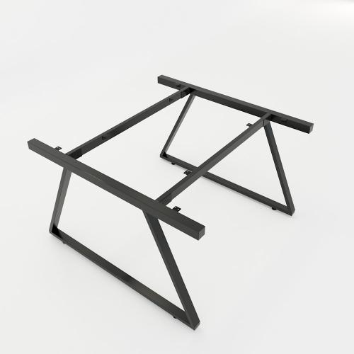 HCTH014 - Chân bàn cụm 2 hệ Trapeze II Concept 120x120 lắp ráp