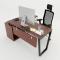 HBTC021 - Bàn Giám Đốc 140x140 Trapeze Concept lắp ráp