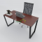 HBTC005 - Bàn làm việc 140x70 Trapeze Concept lắp ráp