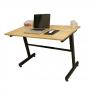 CBCC002 - Chân bàn làm việc chữ I cho bàn 120x60 cm