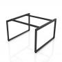 NVCN005 - Chân bàn nhân viên 1400x1400mm sắt 25x50 lắp ráp ngàm