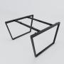 HCTC020 - Chân bàn cụm 2 120x120 hệ Trapez Concept lắp ráp