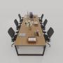 thiết kế hiện đại cho nhiều người ngồi