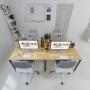 cụm bàn văn phòng