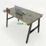 HBAC003 - Bàn làm việc 120x70 AConcept lắp ráp
