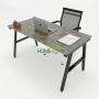 HBAC005 - Bàn làm việc 140x70 AConcept lắp ráp