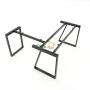 HBTH017 - Bàn chữ L 140x140 Trapeze II Concept lắp ráp
